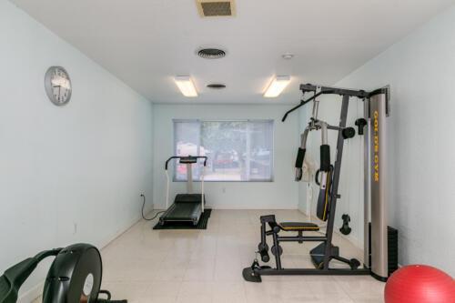 Brookhollow RV Park Fitness Room