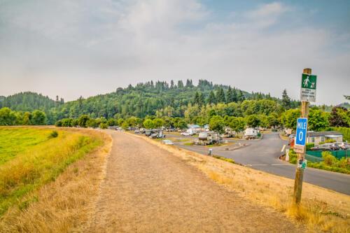 Brookhollow RV Park Trail