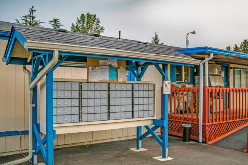Brookhollow RV Park Mailboxes