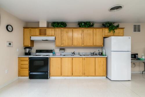 Brookhollow RV Park Meeting Room Kitchen